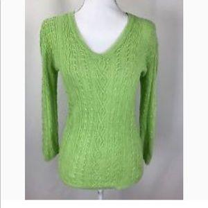 Ralph Lauren lime green sweater